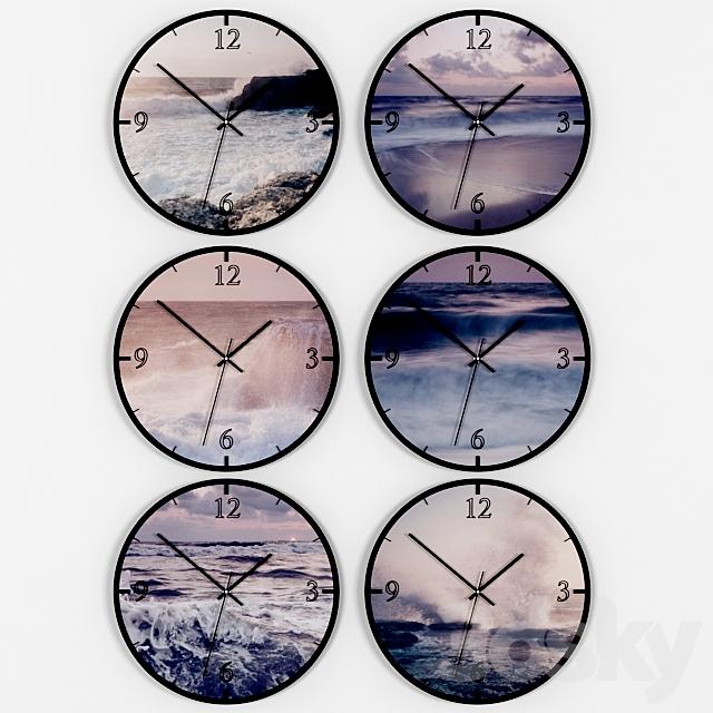 Set wall clocks.