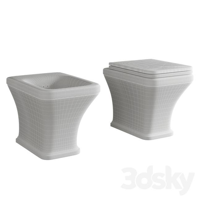Hidra Ceramica - TOSCA Toilet