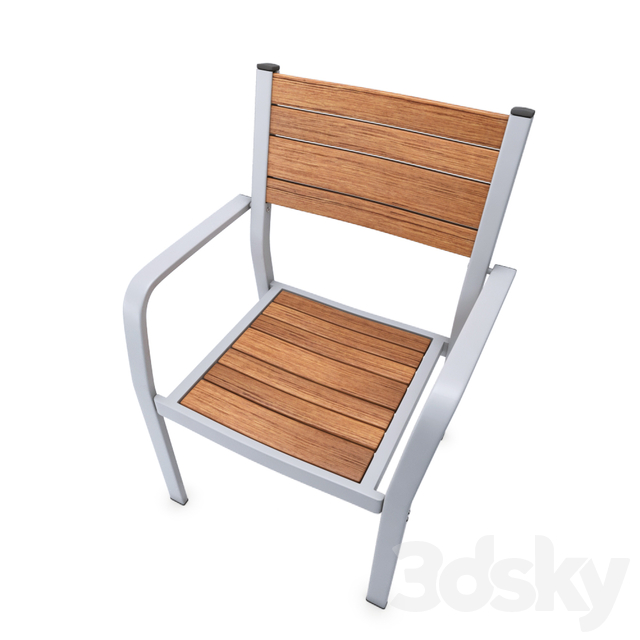 IKEA SJALLAND Chair with armrests