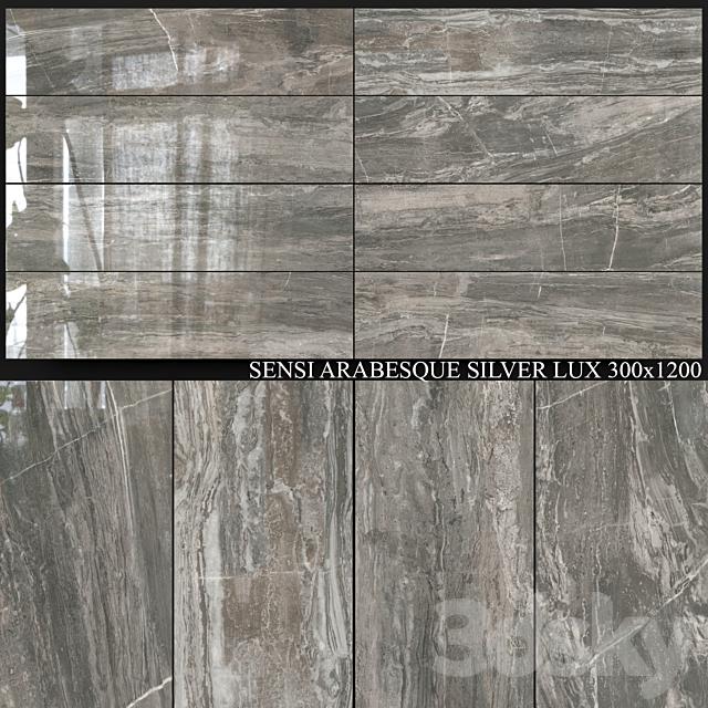 ABK Sensi Arabesque Silver Lux 300x1200