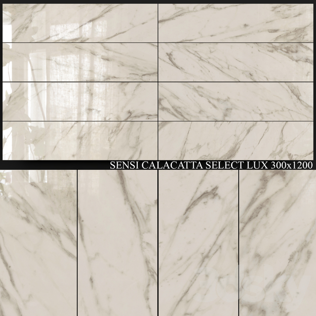 ABK Sensi Calacatta Select Lux 300x1200