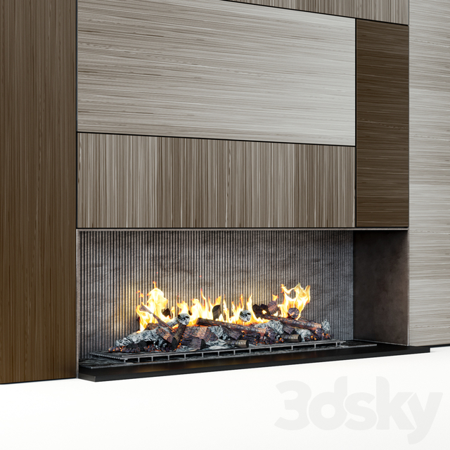 Modern fireplace 16