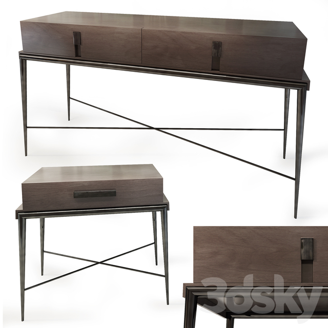 Console / chest and dresser Langham. dresser nightstand. The Sofa & Chair