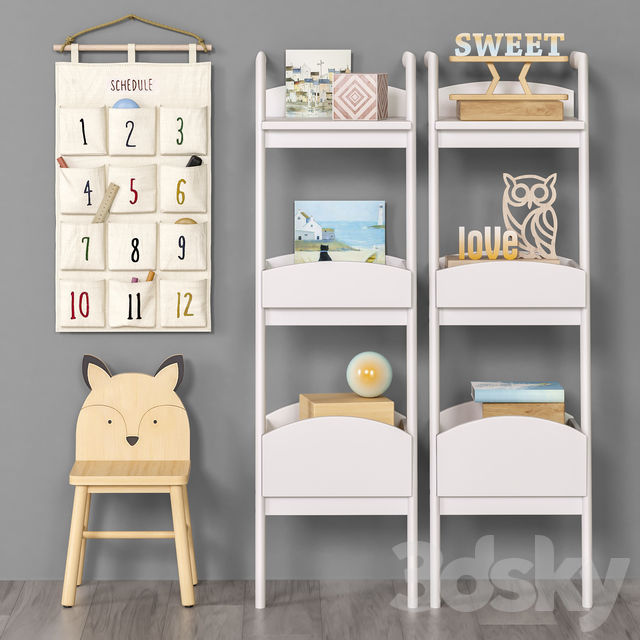 Toys and furniture set 52