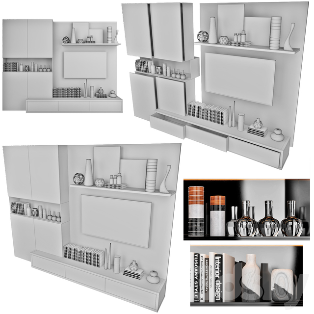TV Wall   set 16