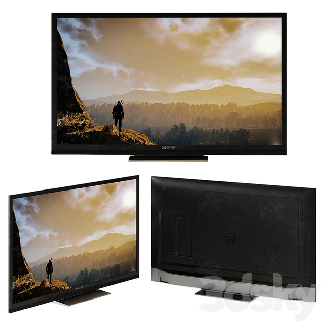 Sharp LC Smart Tv Aquos