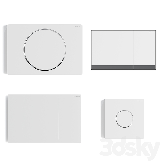 Geberit buttons