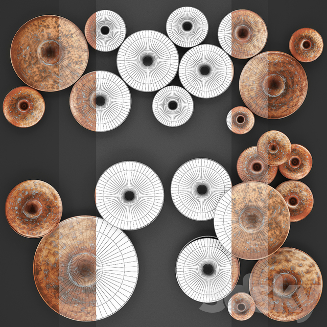 ART. Disc Wall Decor by World Menagerie