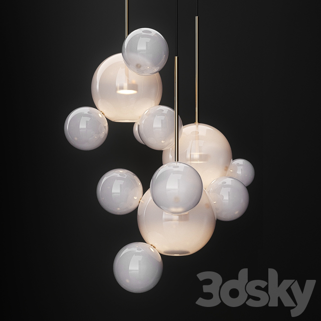 Chandeliers IC and  G & C Bolle