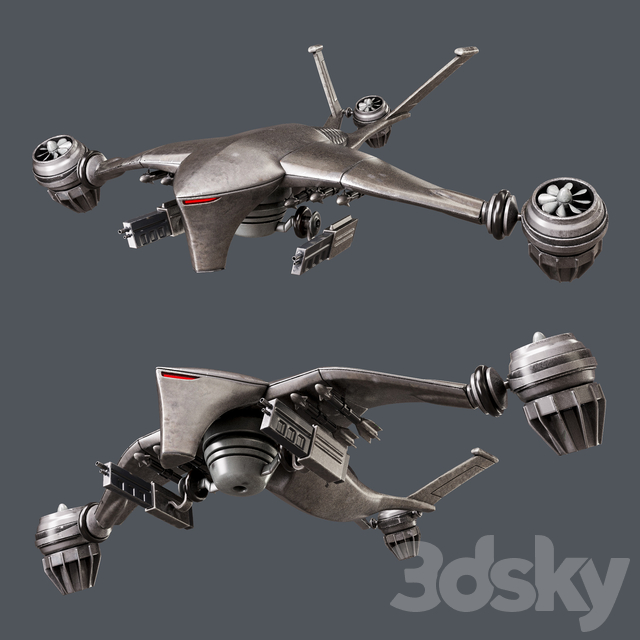 Hunter killer-drone