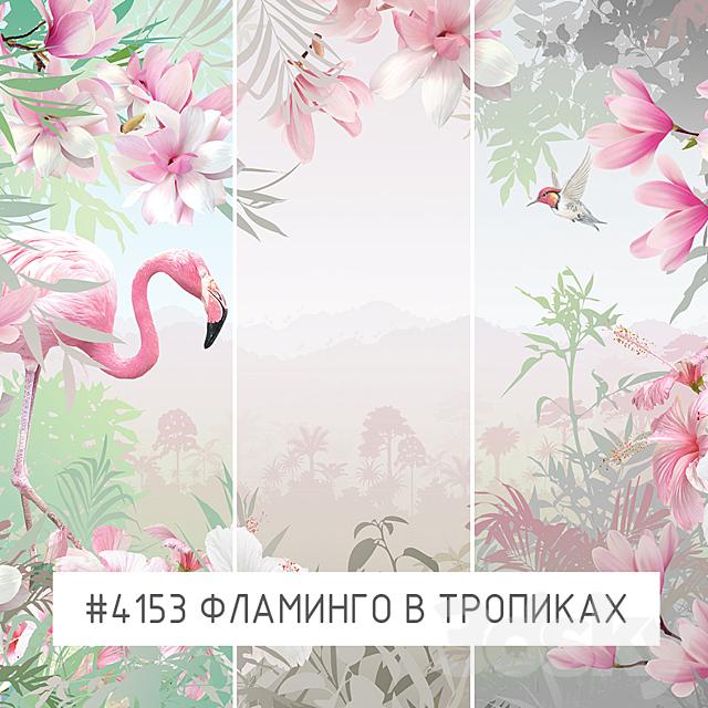 Creativille   Wallpapers   Framingo in tropics 4153