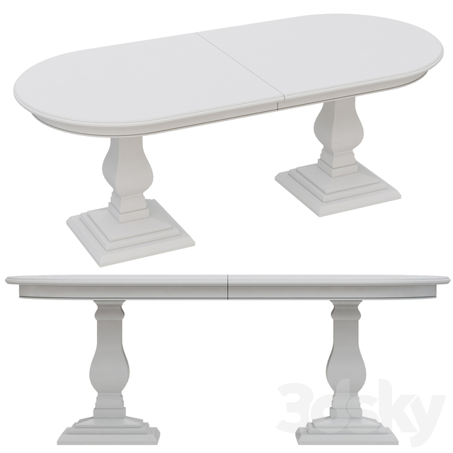 Dantone Home Oval Dining Table
