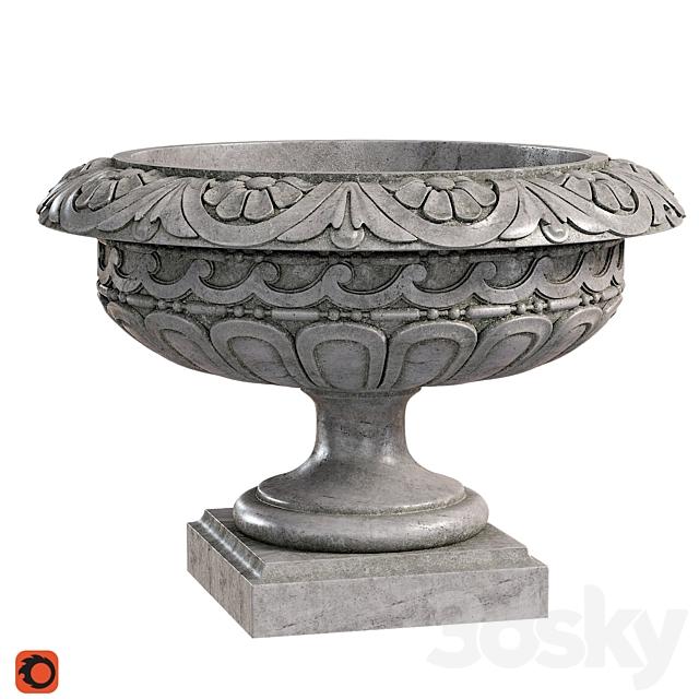 Classic vase 04. Longwood Rosette Urn