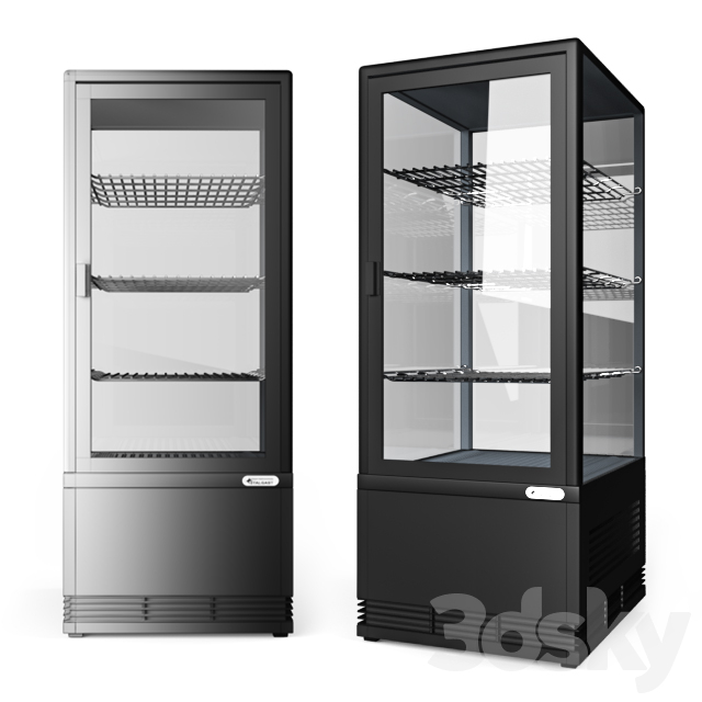 Refrigerated display case Frosty