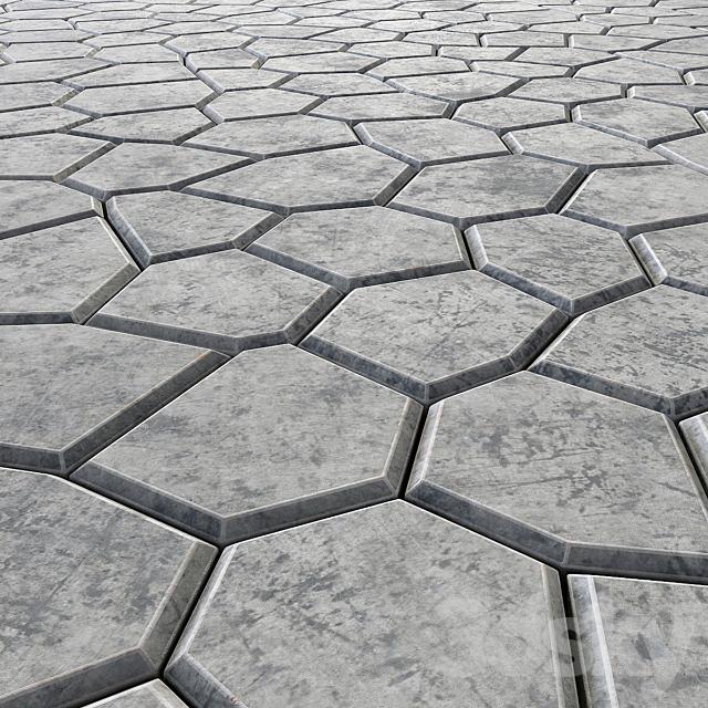 Title stone decoration / Tile stone for decoration