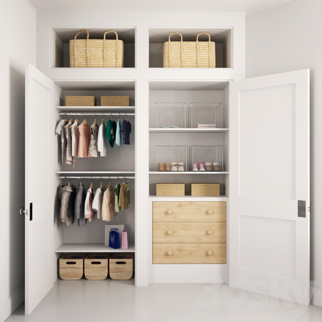 Children's wardrobe 03 I Baby clothes_03