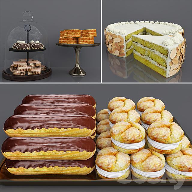 Cake bar (Chocolate & Vanilla cake)