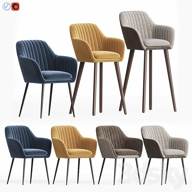Deephouse Lausanne Chair Set