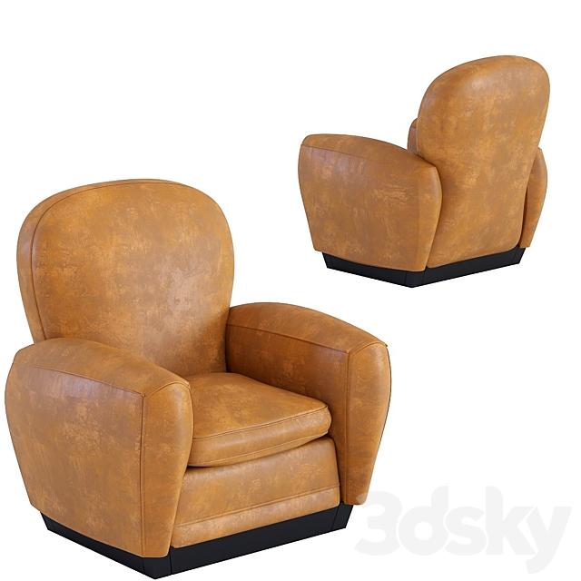 Armchair Round Vintage Smart