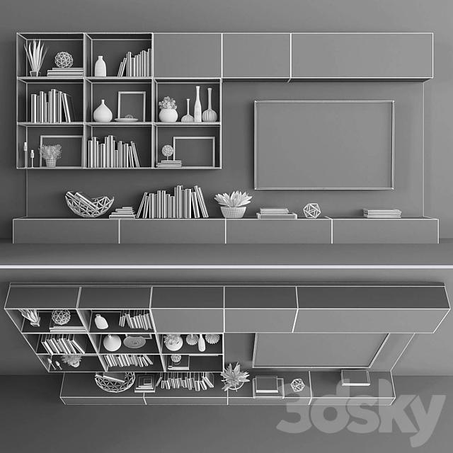 TV stand set 058