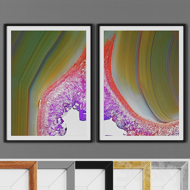 Picture frame set 00015-9