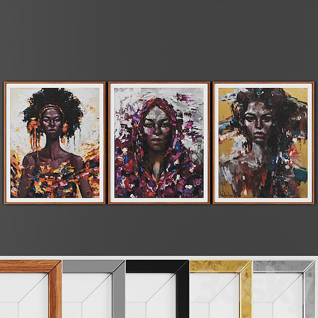 Picture frame set 00016-24