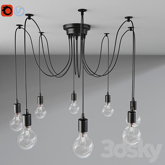 Wire Jungle Pendant Lights