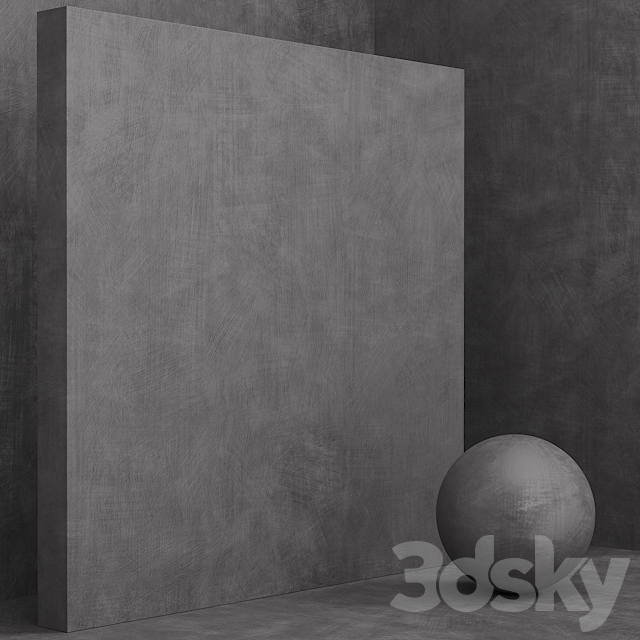 Material (seamless) - concrete plaster set 112