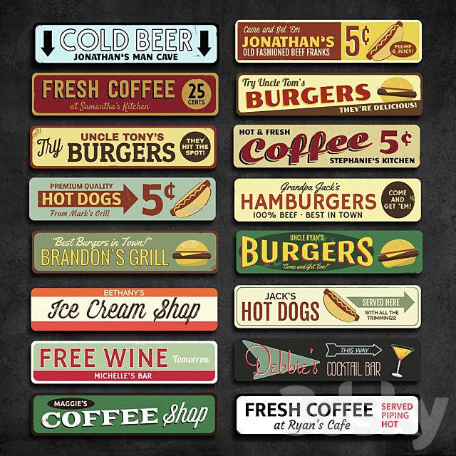 Metal Signs 44