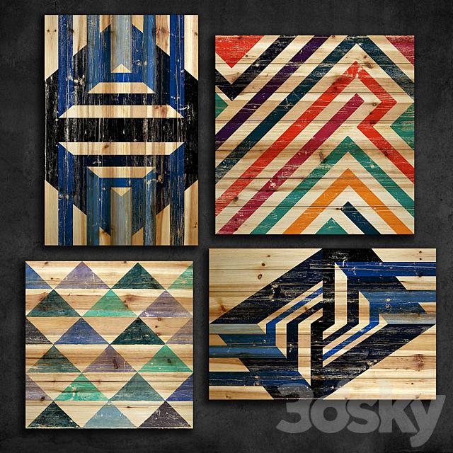 Wooden panel 92