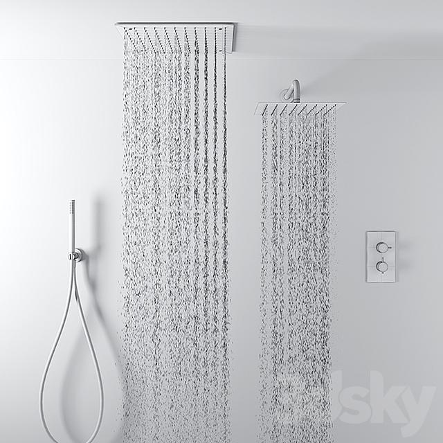 Deluge shower set