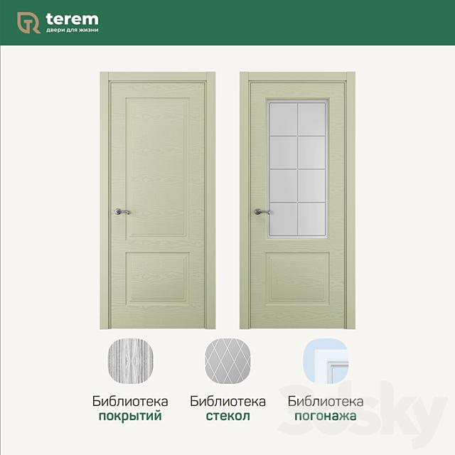 Terem Interior Door Factory: Rino 2 Model (Fusion Collection)
