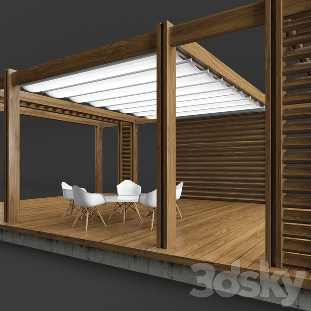 3d models: Other - Pegola Corradi_outdoor living space on Corradi Living Space id=47847