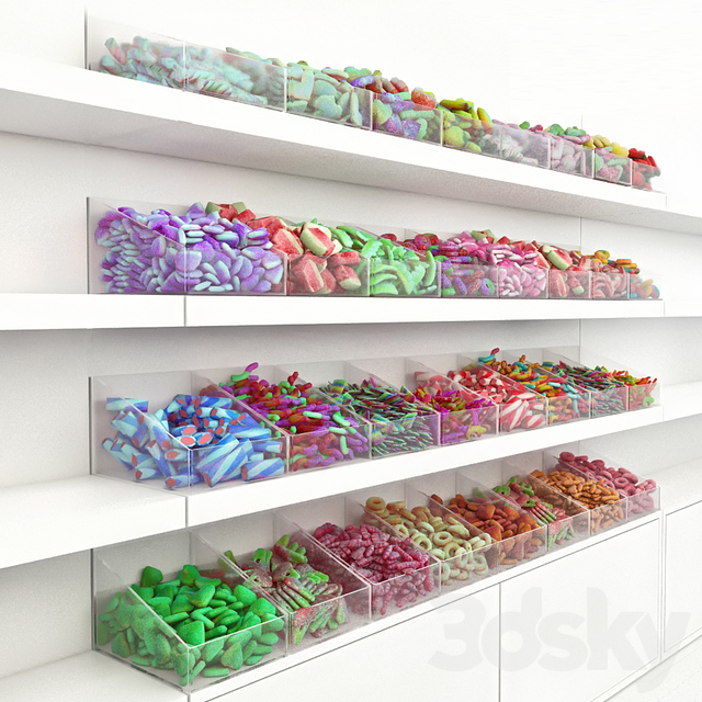 Candy rack 2