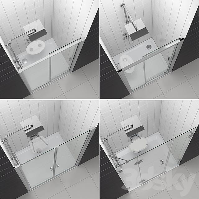Set of shower doors RAVAK set 53