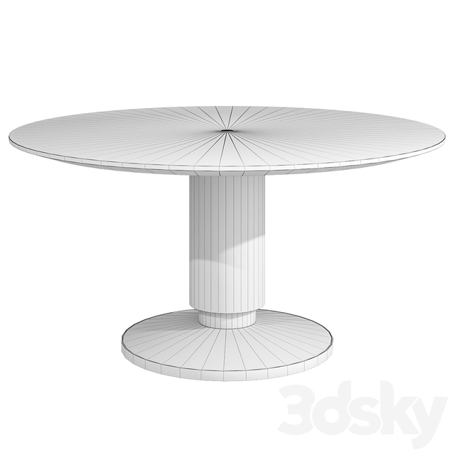 Culinary Circle Caracole Table