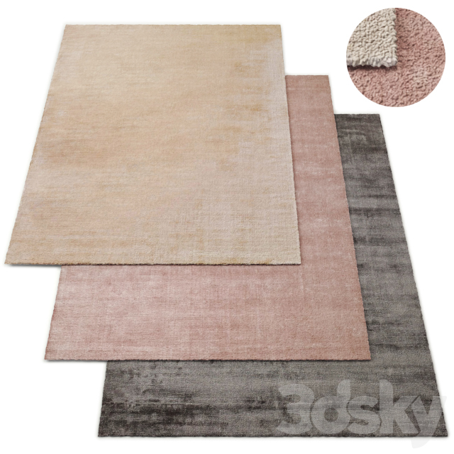 Aline Handwoven Rug RH Collection