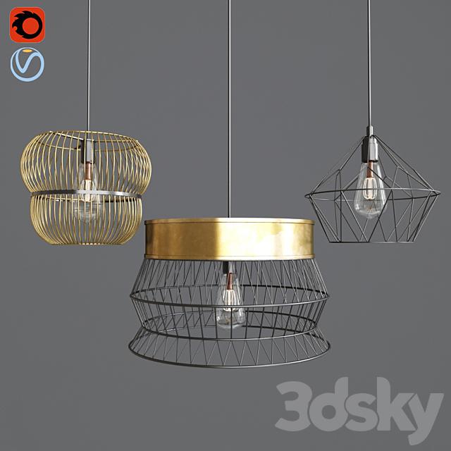 Wire light set