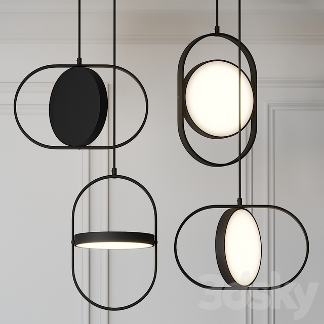 Moon-Inspired Pendant Light by Elina Ulvio