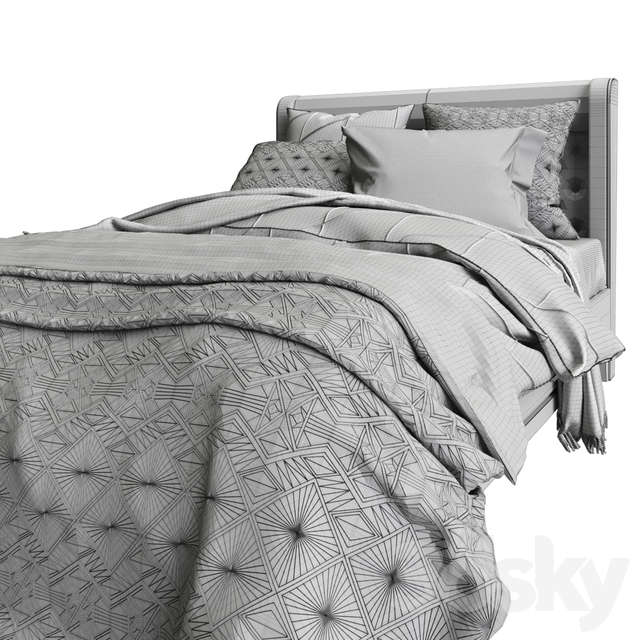 Arte Brotto_SEGRETI S990_Bed