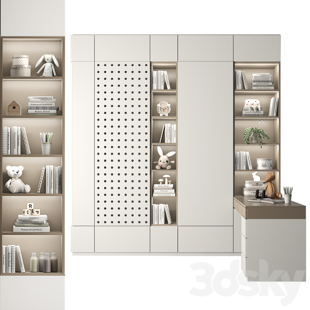 Furniture for a children's room 86