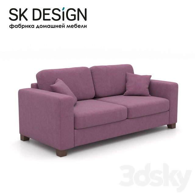 OM Double sofa Morti MT 166