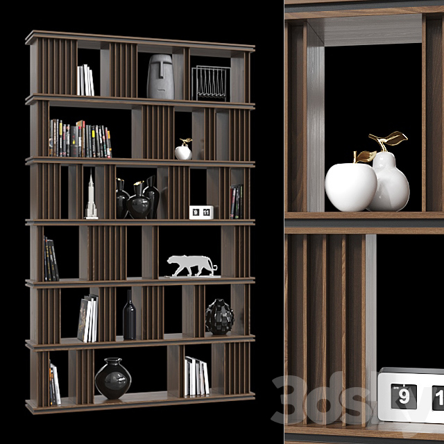 Double-sided shelving 035.