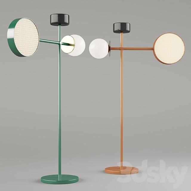 Floor lamp factory Mambo Unlimited Ideas Collection MONACO ART. MONACO FLOOR