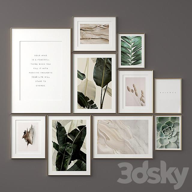 Green Poster Set 05