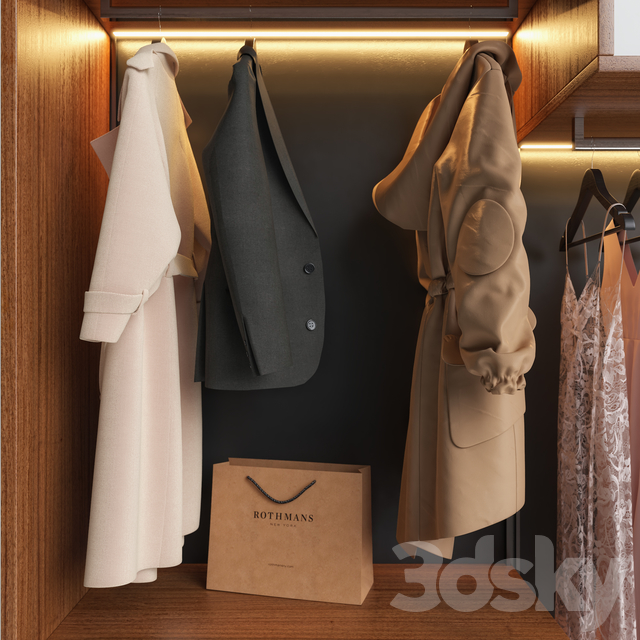 Wardrobe Presotto Wardrobe