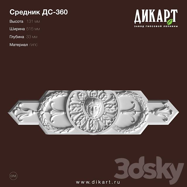 www.dikart.ru DS-360 131x515x33mm 08/30/2019