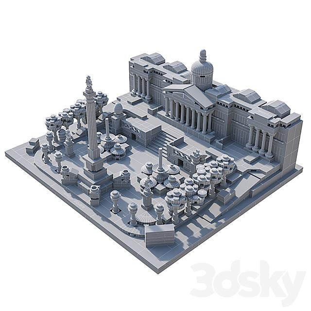 LEGO Trafalgar Square # 21045