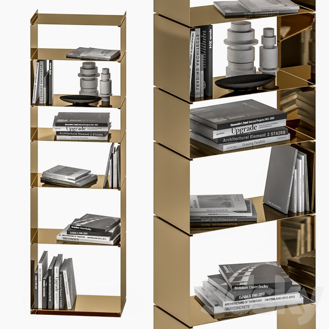 Book shelves Paolo Rizzo RZ - 6