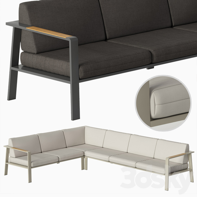 Corner sofa NOFI